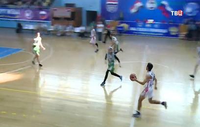 В Дамаске сборные России и Сирии по баскетболу провели товарищеский матч