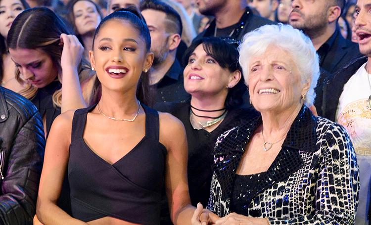 Ариана Гранде и ее 93-летняя…