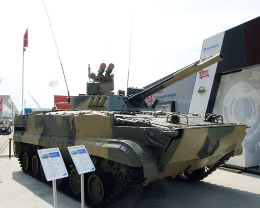 «Курганмашзавод» представил новую модификацию БМП-3