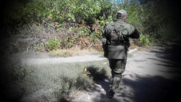 Фронтовой быт бойцов ополчен…