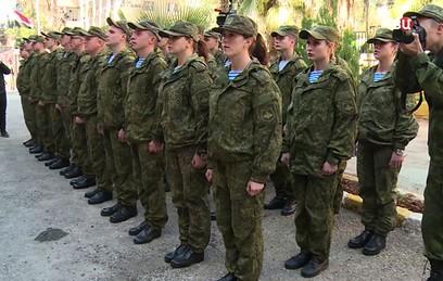 Жители Алеппо поблагодарили российских военных врачей