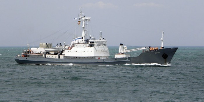 СМИ: 15 российских моряков пропали без вести после столкновения кораблей