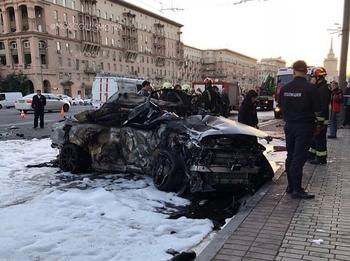 """За рулем """"Мерседес"""" во время ДТП на Кутузовском был 22-летний водитель"""