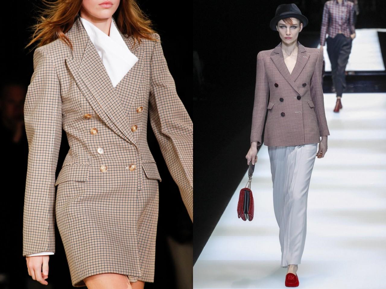 Модные тенденции — с чем носить модные пиджаки и жакеты 2018-2019