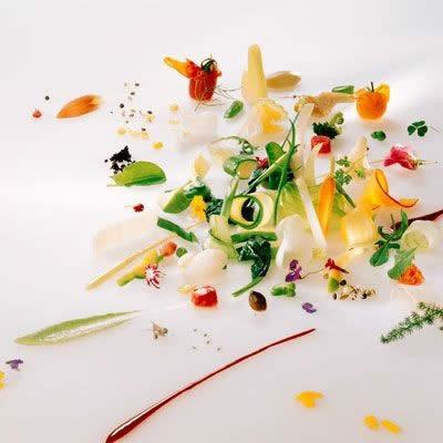 Michel Bras салат «Гаргуйю»