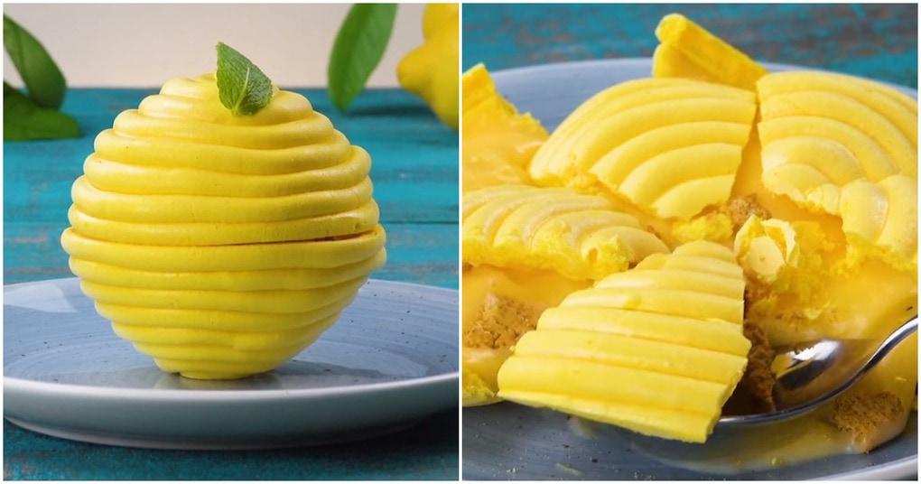 Простой в приготовлении, но такой красивый десерт-безе не оставит никого равнодушным