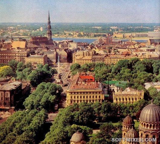 Советская Рига в 1960 - 1970-е года
