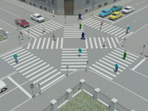 В Москве появятся пешеходные переходы нового типа - Фото 1
