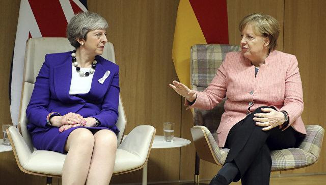 Меркель спасла Терезу Мэй от позора