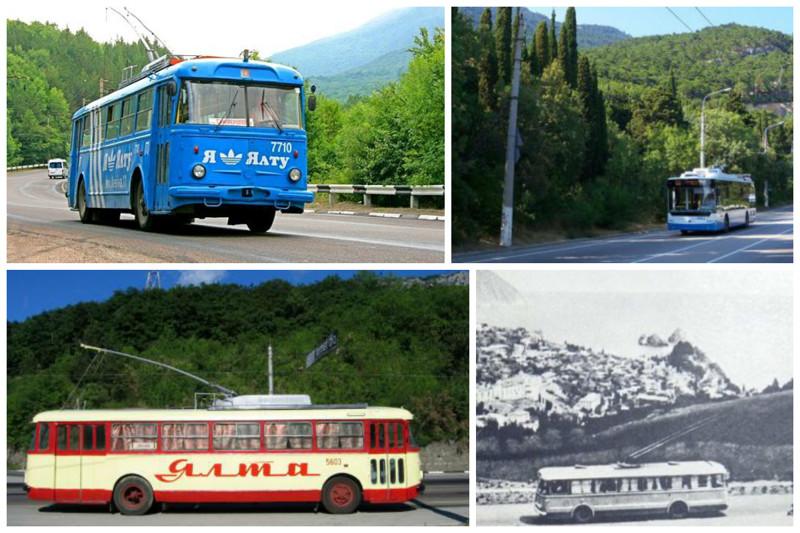В Крыму зафиксирован мировой рекорд. Между Симферополем и Ялтой проходит самый длинный троллейбусный маршрут в мире протяженностью 86 километров. Маршрутов длиннее не существует. интересное, красота, факты, ялта