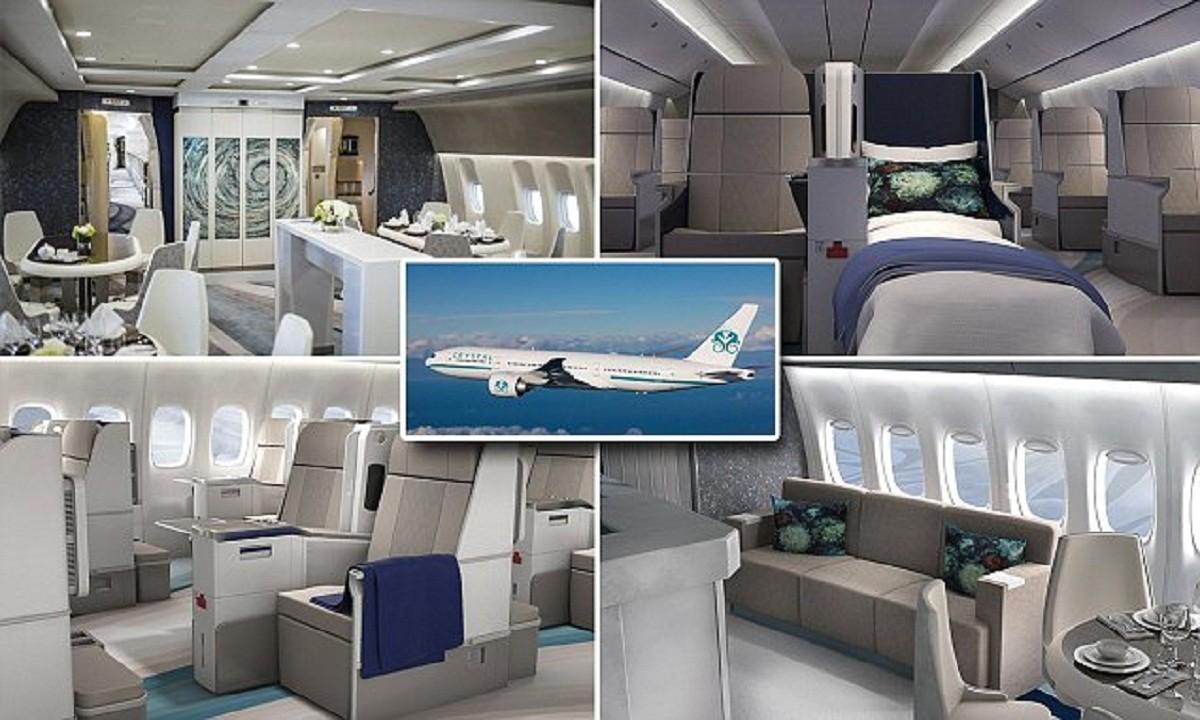 Самый шикарный в мире пассажирский самолет приглашает в воздушный круиз