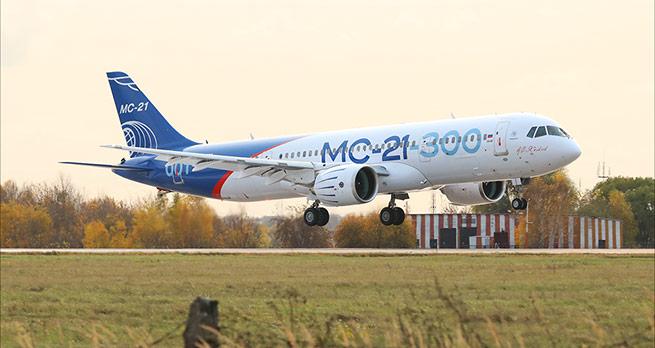 """Авиакомпания """"Ямал"""" приобретет самолеты МС-21"""