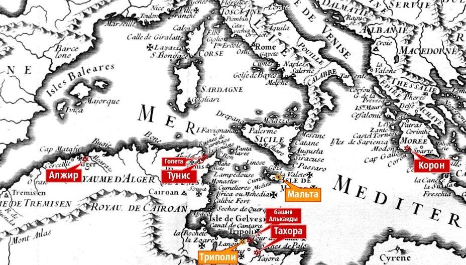 Война в Срединном море: Морея и Тунис