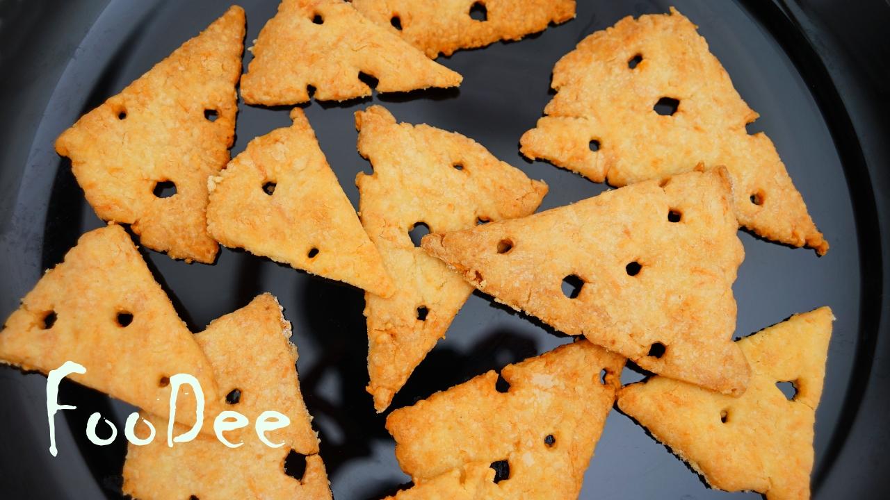 Сырное хрустящее печенье из …