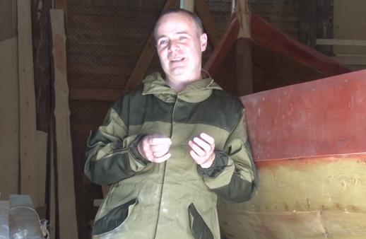В Карелии полицейский построил ладью, а его жена сшила паруса