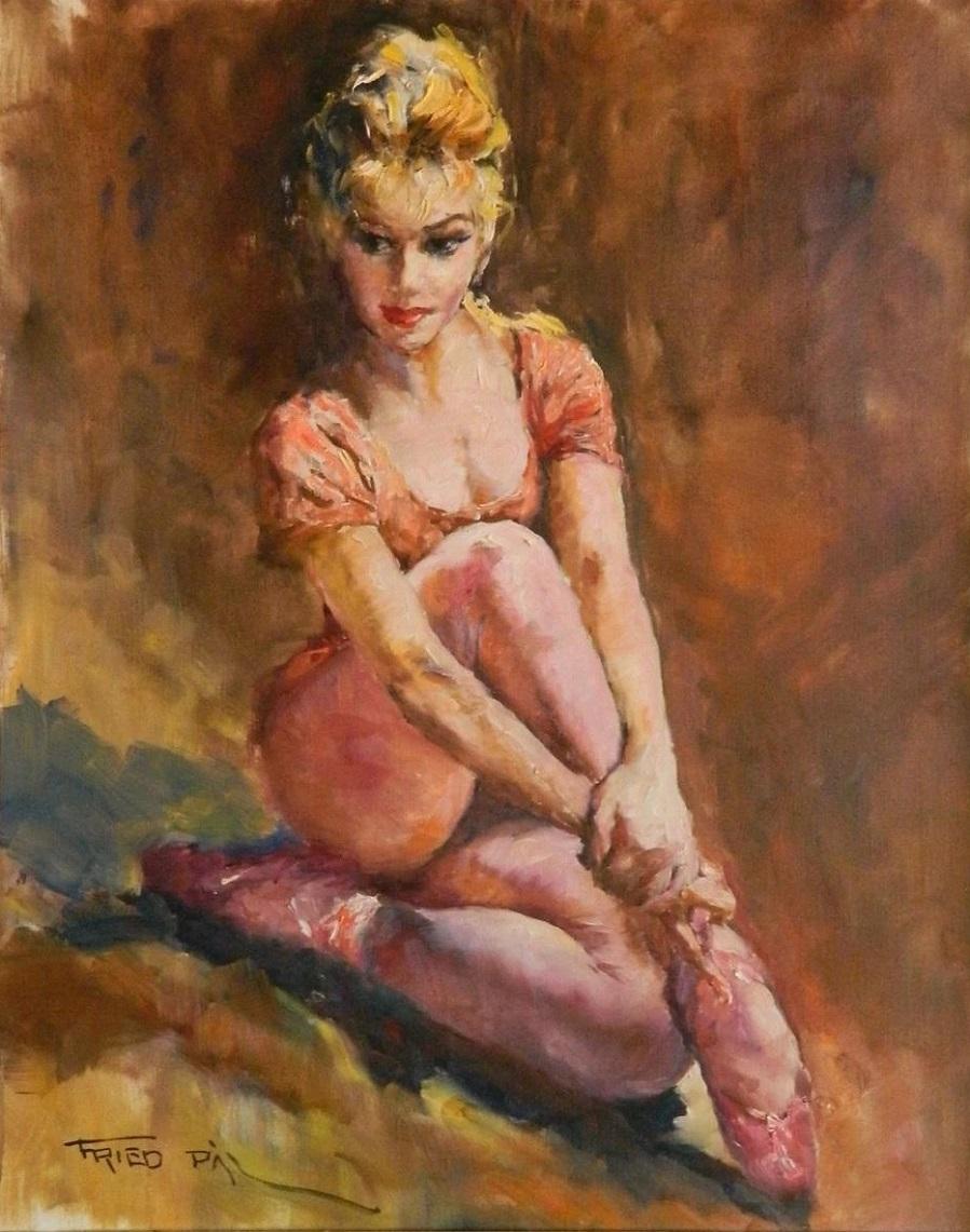 Художник Пал Фрид (Венгрия / Америка, 1893-1976) и его картины