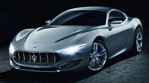 Mazerati запустит в серийное производство купе Alfieri