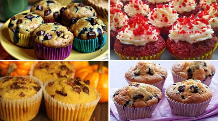 Как приготовить полезные кексы: 10 лучших рецептов