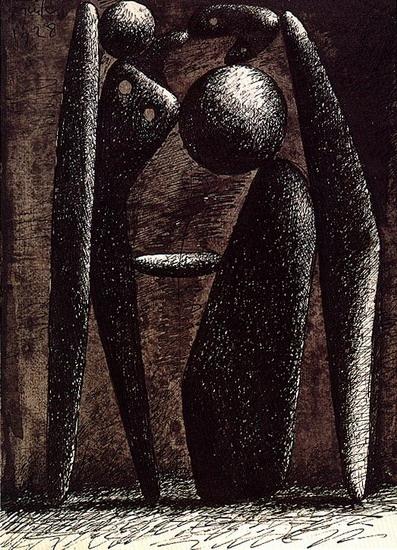 Пабло Пикассо. Купальщицы (Проект для памятника). 1928 год