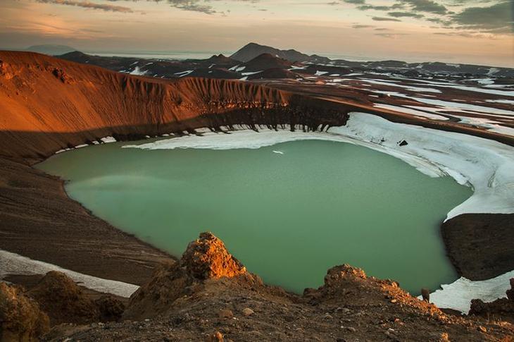 Озеро Эскьюван, Исландия
