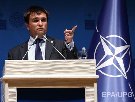 Климкин не исключил вступления Украины в НАТО по примеру Черногории