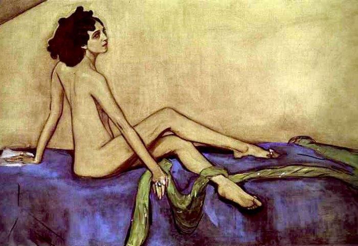 В. Серов. Портрет Иды Рубинштейн, 1910 | Фото: art-galerea.ru