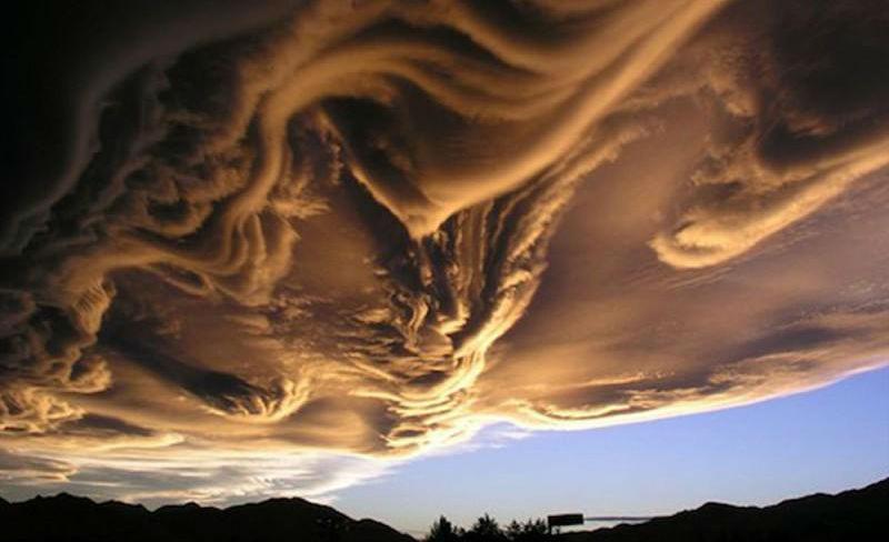 Асператус: Самые красивые и страшные облака