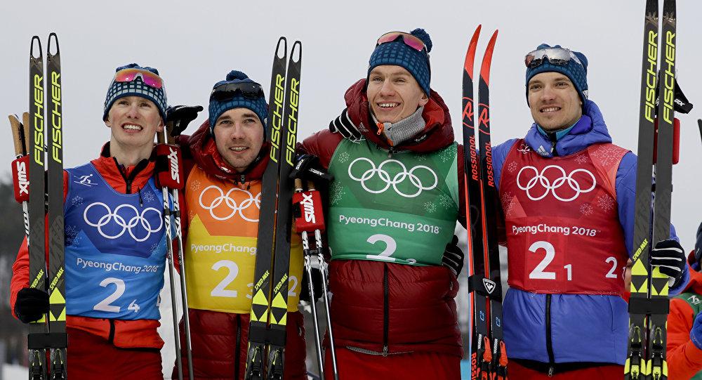 Серебро российских лыжников …