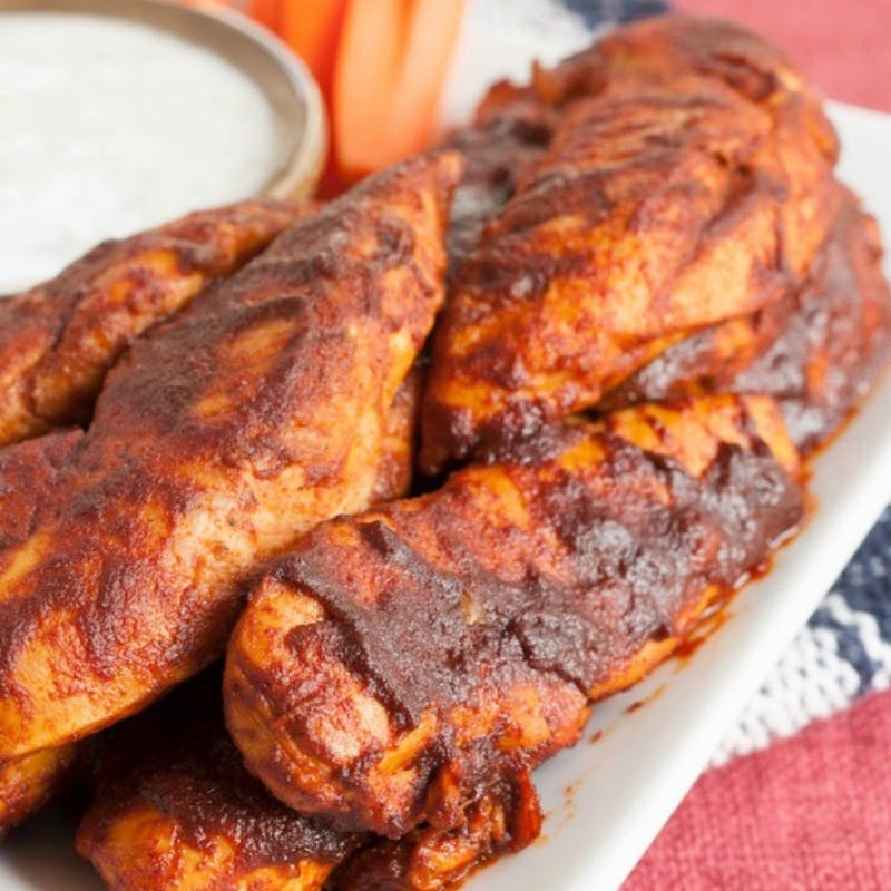 куриная запеканка с соусом энчиладос