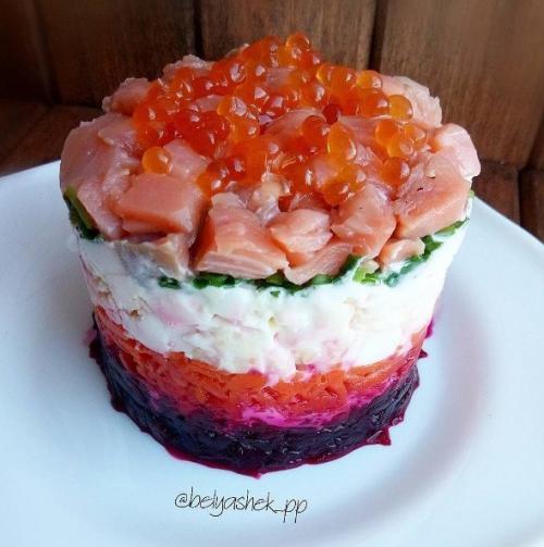Замечательный салатик — отличная идея!