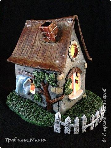 Сказочный домик мастер класс
