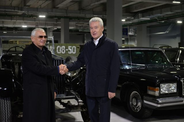 Собянин поддержал планы развития киноконцерна «Мосфильм»