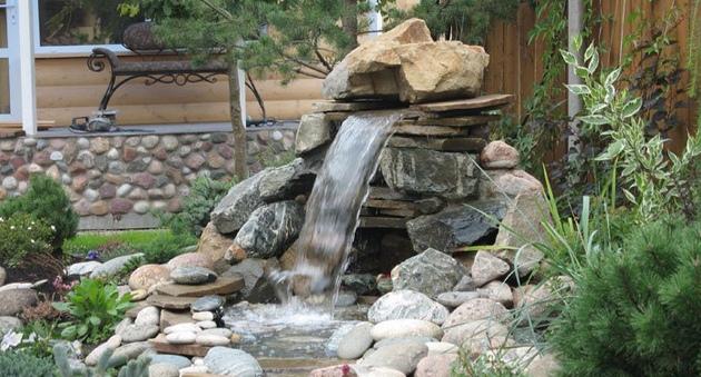Своими руками водопады дома
