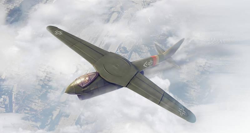 NASA AD-1: самолёт с поворотным крылом