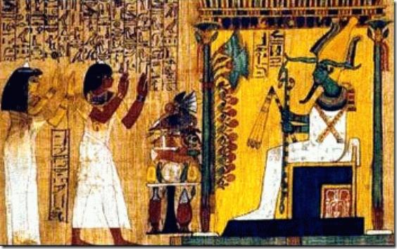 Древнеегипетская Книга мёртвых — Википедия
