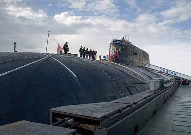 АПЛ «Томск» выполнила стрельбу крылатой ракетой