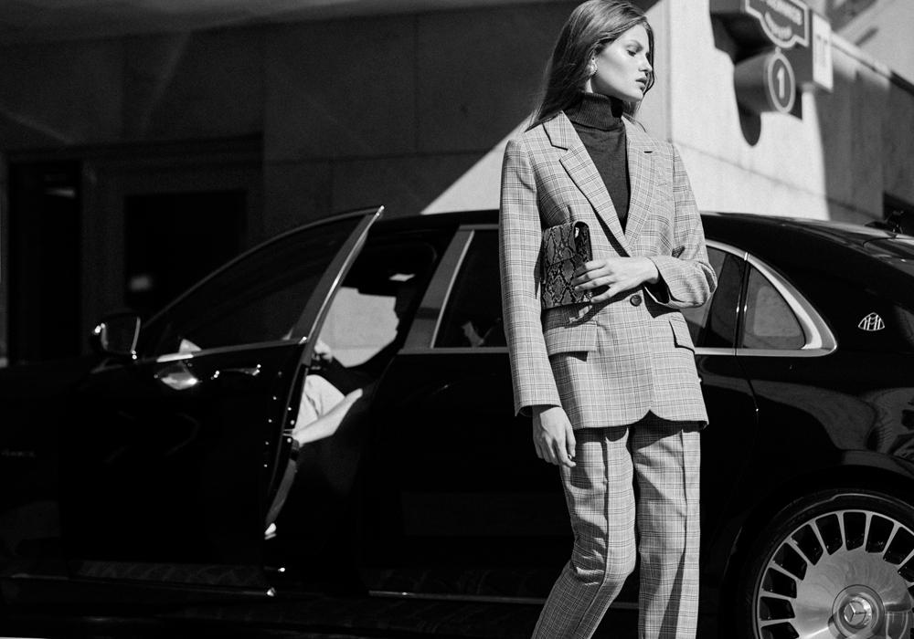 Правильные костюмы на осень: 20 образов I Am Studio в стиле Синди Кроуфорд 80-х