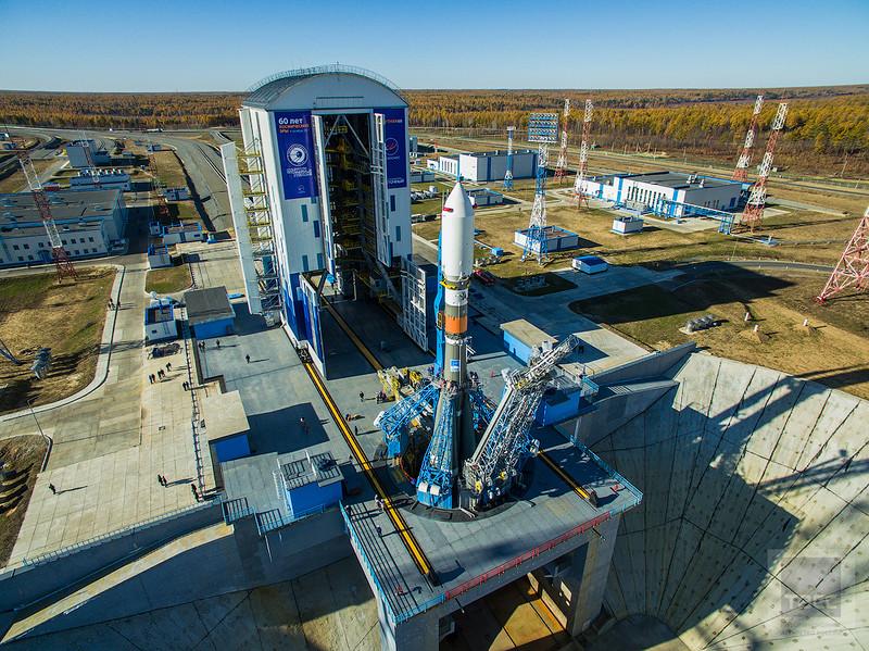 Космодром Восточный готовится сразу к двум запускам в этом году (много классных фото)