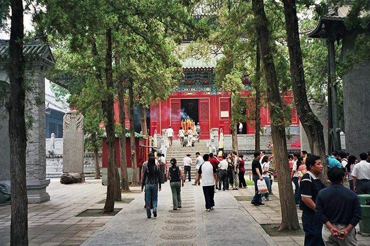 Монастырь Шаолинь на горе Сун-шань