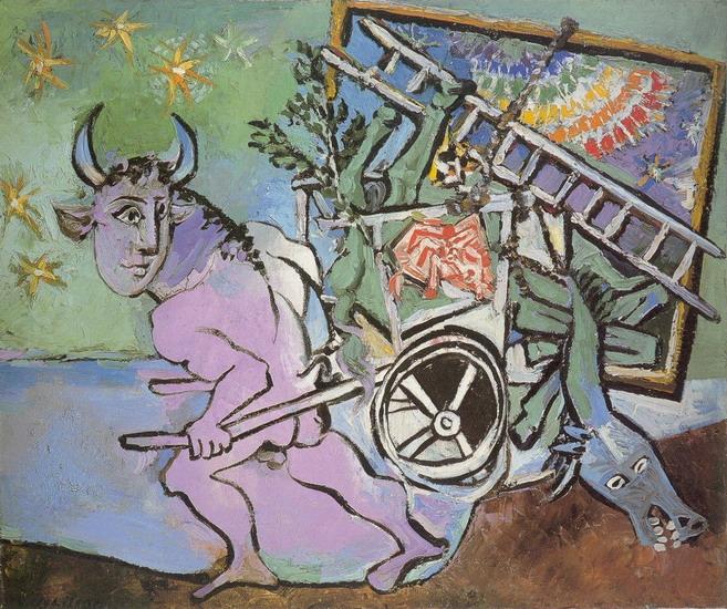 Пабло Пикассо. Минотавр. 1936 год