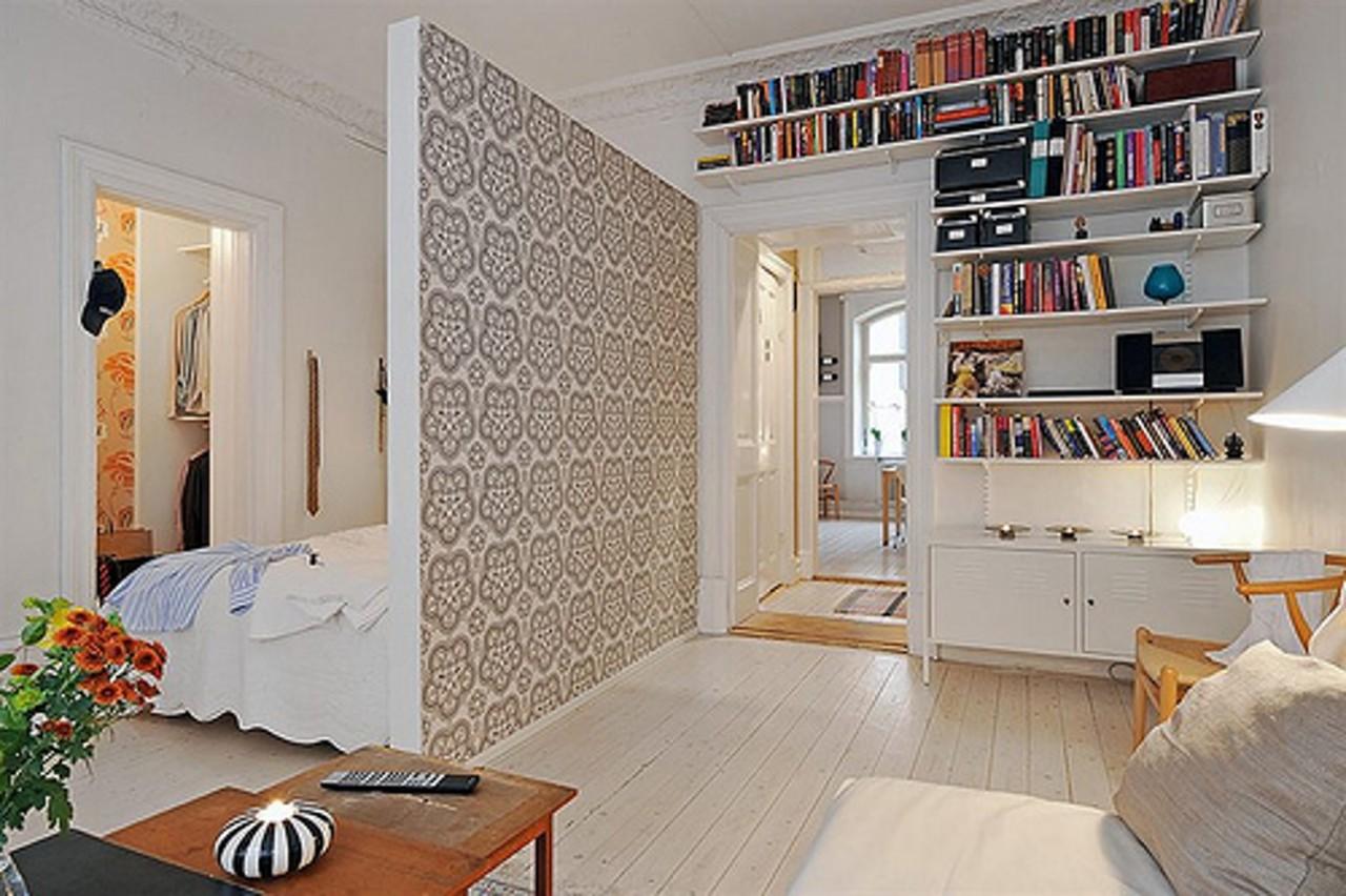 Как разделить пространство в комнате перегородкой?.