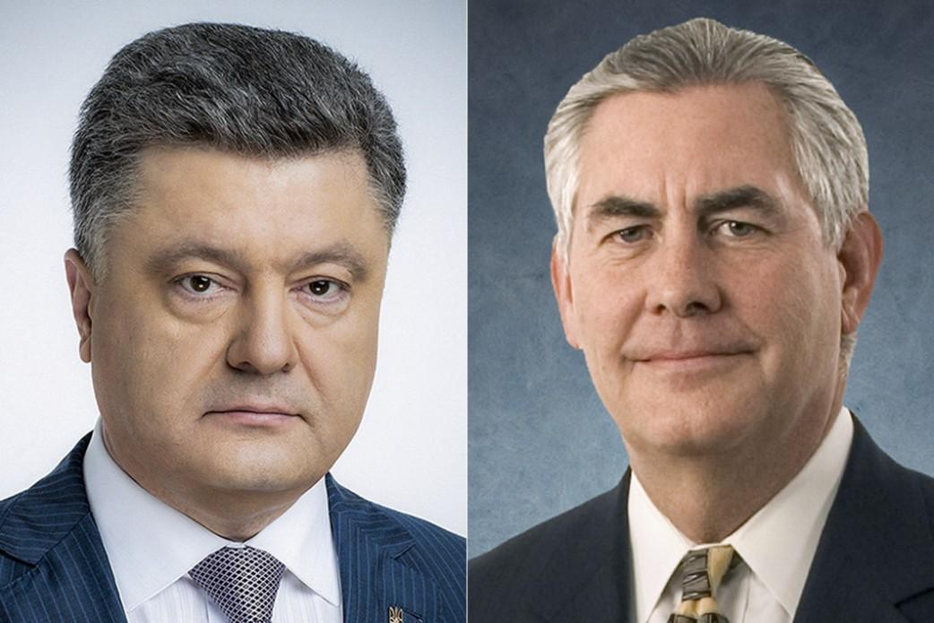 Порошенко просит США немедленно начать вооруженную интервенцию в Донбасс