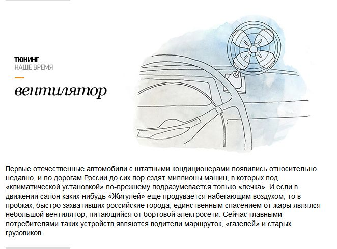 Тюнинг по-советски