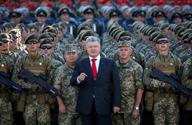 НАТОвские стандарты для армии как еще один элемент предвыборной кампании Порошенко