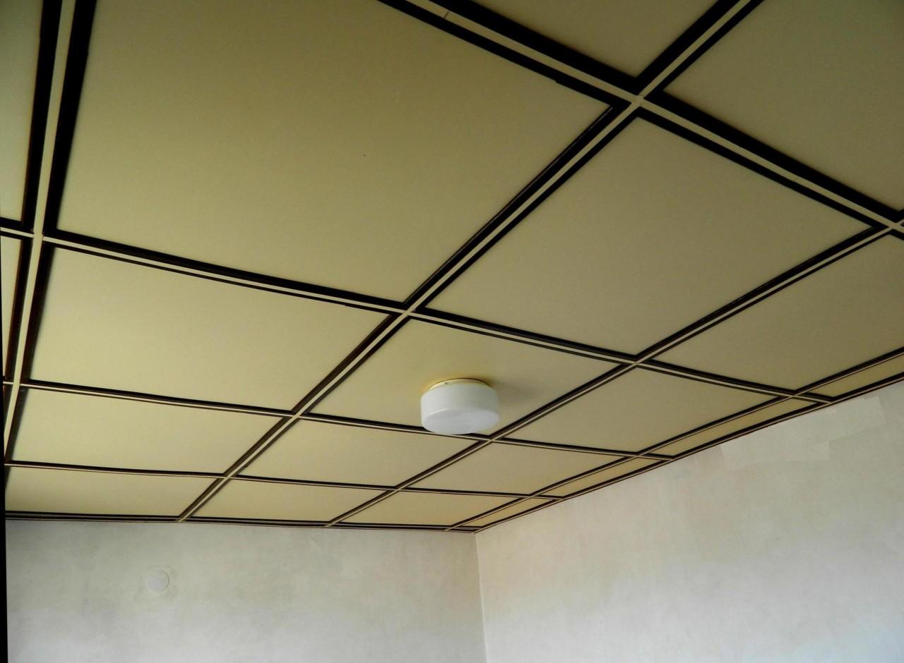 Двухуровневый потолок из двп своими руками