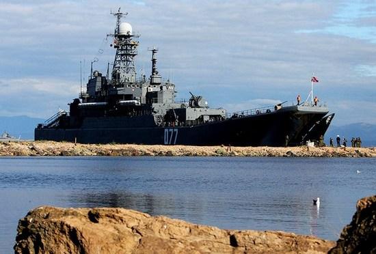 «Сирийский экспресс» живет лишь за счет стареньких десантных кораблей