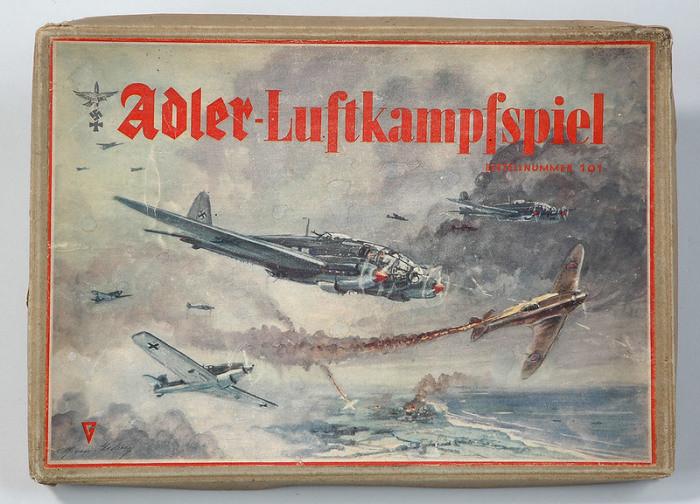 Настольные игры в нацистской Германии германия, настольные игры, пропаганда