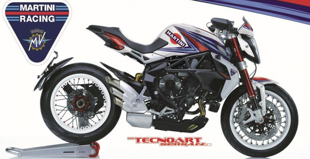Фото TecnoArt Design, MV Agusta Brutale Dragster 800 RR S, MV Agusta Brutale Dragster 800 RR S Martini Racing