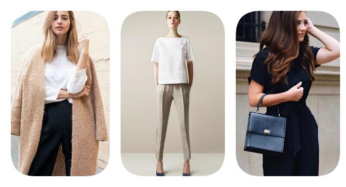 Минимализм в гардеробе: стиль под особое настроение
