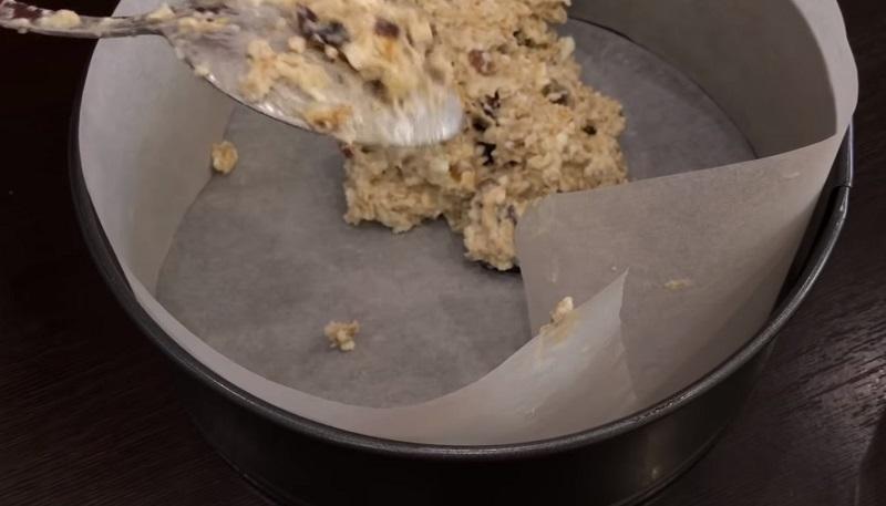 пирог из овсянки в духовке